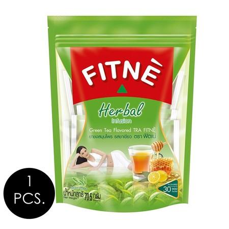 ฟิตเน่ยาชงสมุนไพร ชาเขียว 2.35 กรัม (30 ซอง/กล่อง)