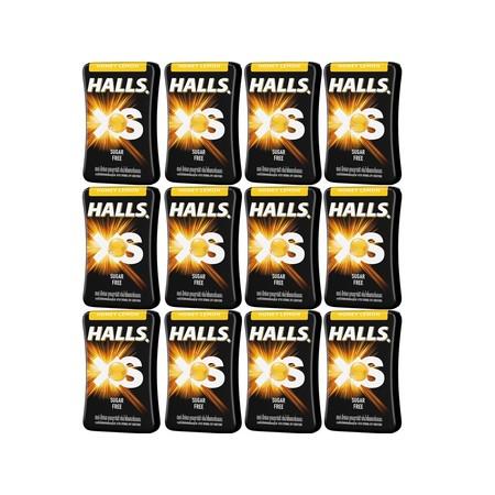 ฮอลล์ เม็ดอมเอ็กซ์เอสกลิ่นน้ำผึ้งเลมอน 13.8 กรัม (แพ็ก 12 ชิ้น)