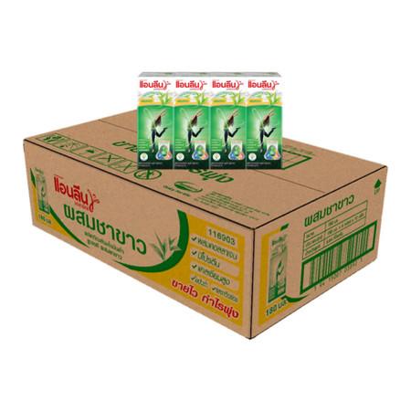 แอนลีน มอฟแม๊กซ์ นม UHT ชาขาว 180 มิลลิลิตร (ขายยกลัง 48กล่อง)