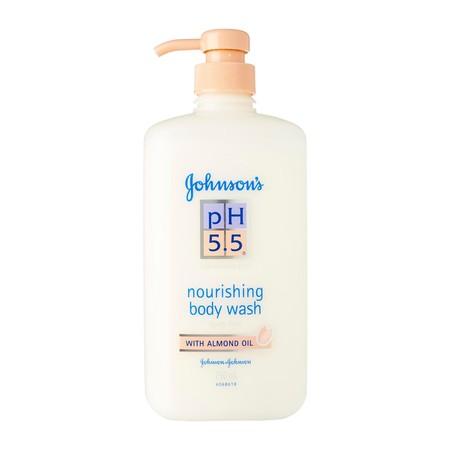 จอห์นสัน ครีมอาบน้ำ pH5.5 อัลมอนด์ วอช 750 มล.