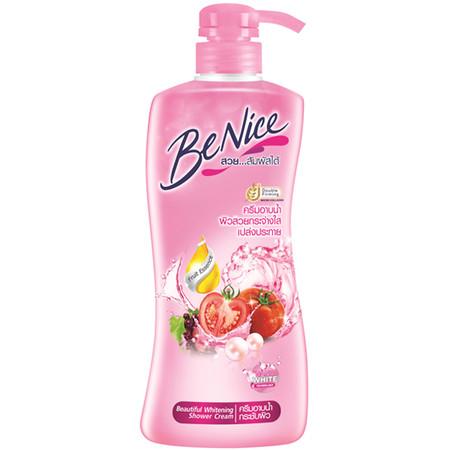 บีไนซ์ ครีมอาบน้ำ ชมพู 450 มิลลิลิตร