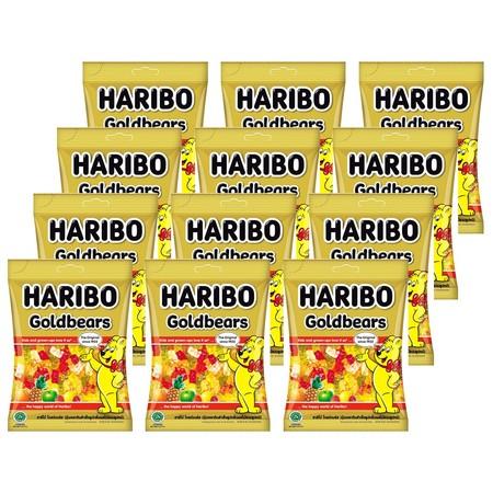 ฮาริโบ้โกล์แบร์ส เยลลี่ 80 กรัม (ยกลัง 12 ถุง)