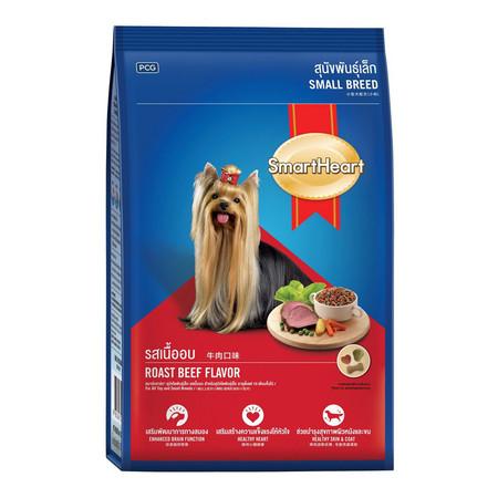 สมาร์ทฮาร์ทอาหารสุนัขเล็ก รสเนื้ออบ 10 กก.