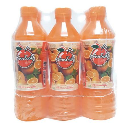 ศิริชิน น้ำส้ม 500 มิลลิลิตร (แพ็ก6)