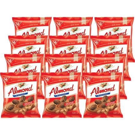 ยูไนเต็ด ช็อกโกแลตอัลมอนด์ถุง 22 กรัม ( แพ็ก 12 )