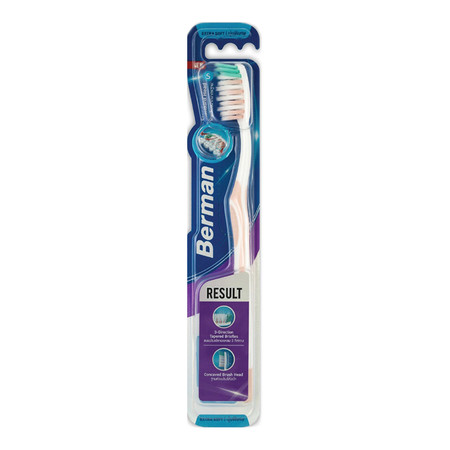 แปรงสีฟันเบอร์แมนรีซัลท์นุ่มพิเศษ