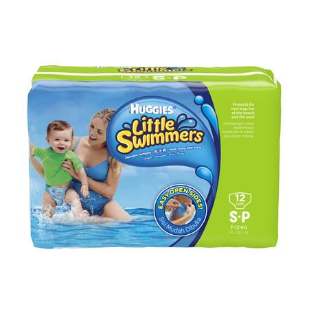 ฮักกี้ส์ ผ้าอ้อมสำหรับว่ายน้ำ ขนาด S 12S