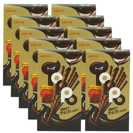 ท็อปโปรสโกโก้ช็อกโกแลต40กรัมแพ็ก10
