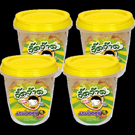 จิ๊ดจ๊าดมะม่วงหยีแซ่บ 150 กรัม (แพ็ก 4 )