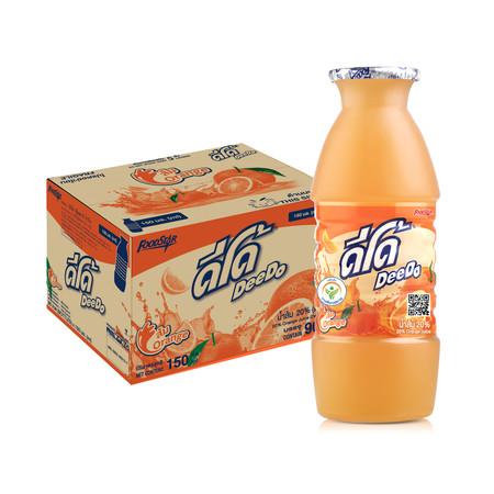 ดีโด้ น้ำส้ม 20% 150 มล. (ยกลัง 16 แพ็ก)