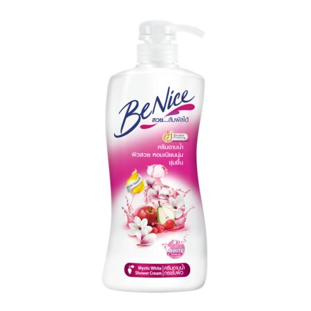 บีไนซ์ ครีมอาบน้ำมีซทิคไวท์ 450 มล.
