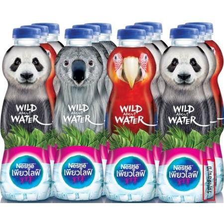 น้ำดื่มเนสท์เล่สัตว์ป่า 330 มิลลิลิตร แพ็ก12