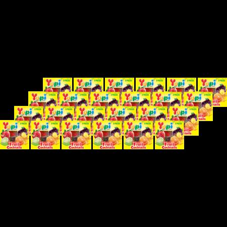 ยูปี้ เยลลี่ ฟรุตคอกเทล 32กรัม(แพ็ก24)