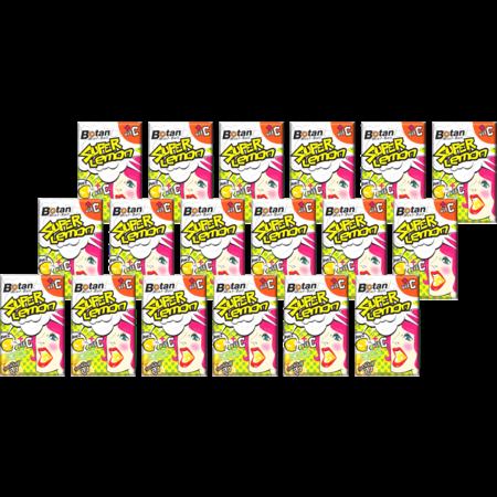 โบตัน ลูกอมมิ้นท์บอลซุปเปอร์เลมอน 17.5กรัม(แพ็ก18)