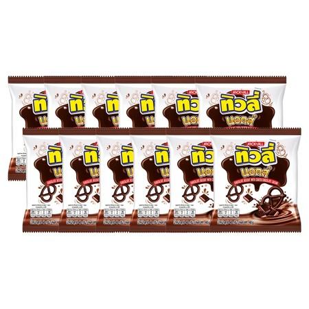 ทิวลี่นอตส์รสช็อกโกแลต48กรัม แพ็ก 12