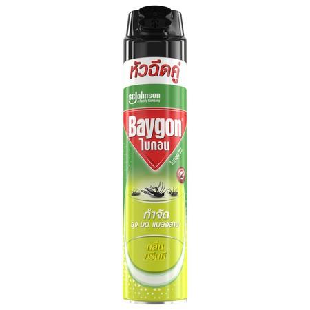 ไบกอนเขียวสเปรย์ กลิ่นกรีนที 600 มล.