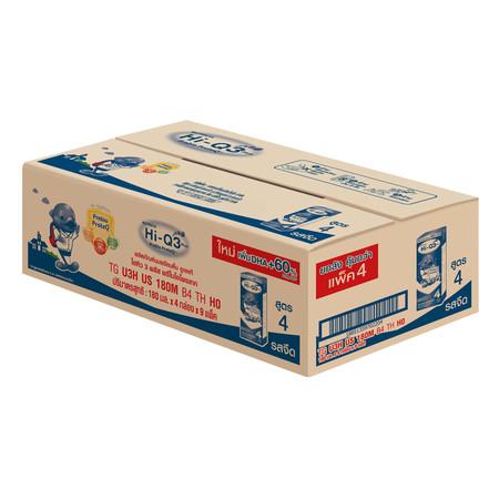 ดูเม็กซ์ นมUHT ไฮคิว 3 พลัส รสจืด 180 มล. (ขายยกลัง 36 กล่อง)