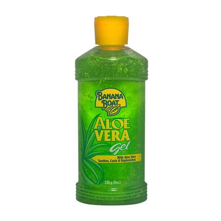 บานาน่าโบ๊ท เจลอโลเวร่า สีเขียว 230 กรัม