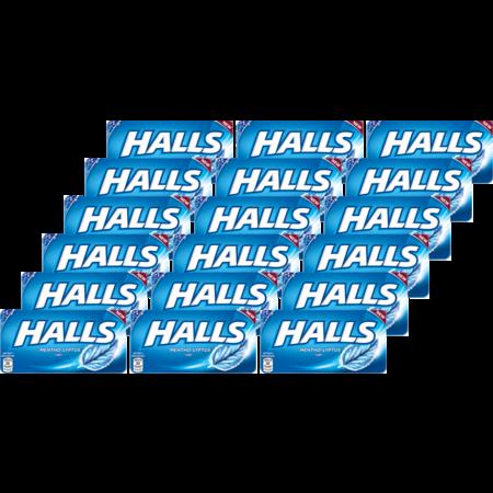 ฮอลล์ ลูกอมเมนโทลิปตัสแผง 22.4กรัม(แพ็ก18)
