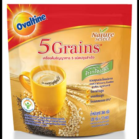 โอวัลตินเครื่องดื่มธัญญาหาร 5 ชนิด แพ็ก 13 ซอง