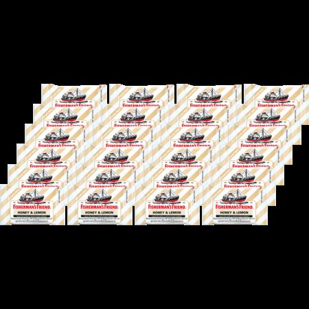 ฟิชเชอร์แมนส์เฟรนด์ ลูกอมฮันนี่เลมอน 25กรัม(แพ็ก24)