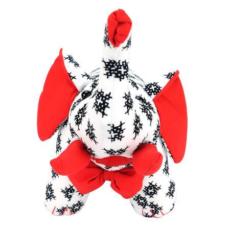 NR by NaRaYa ตุ๊กตาช้าง Size S ลายกนก