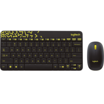 Logitech Wireless Combo Keyboard and Mouse MK240 Nano Black - Thai