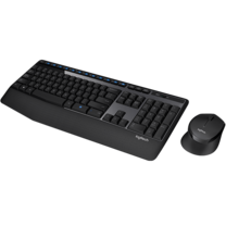 Logitech Wireless Combo Keyboard and Mouse MK345 - Thai