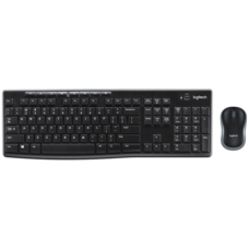 Logitech Wireless Combo Keyboard and Mouse MK270R - Thai