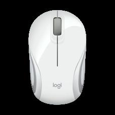 Logitech Mouse M187 Ultra Portable Wireless Mouse White