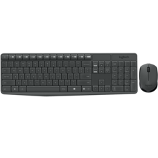 Logitech Wireless Combo Keyboard and Mouse MK235 - Thai