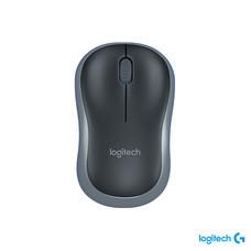 Logitech Wireless Mouse M185 เมาส์ไร้สายออฟติคัล สีดำ