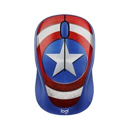 LOGITECH CAPTAIN AMERICA M238 MARVEL COLLECTION WIRELESS MOUSE