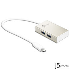 J5 USB TYPE-C 4-PORT HUB รุ่น JCH343