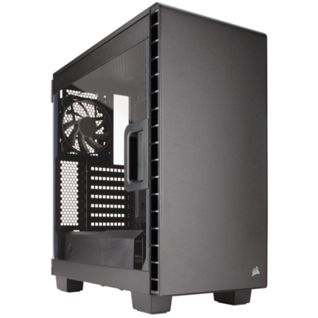 Clear 400C Compact Mid-Tower Case - Black