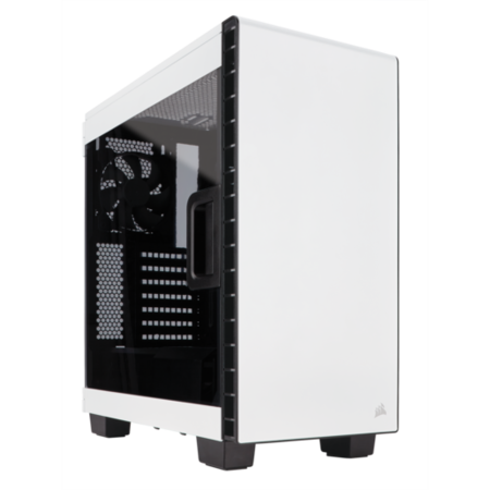 Clear 400C Compact Mid-Tower Case - White