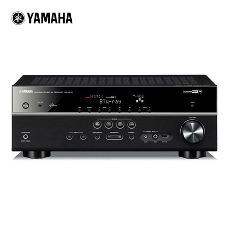 YAMAHA AV Receiver 7.2-Channel รุ่น RX-V575 (Black)