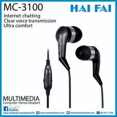 HAIFAI หูฟังสอดหู รุ่น MC-3100