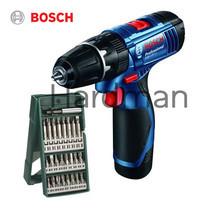 Bosch สว่านกระแทกไร้สาย 12V รุ่น GSB 120-LI พร้อมดอกไขควง X-LINE 25 ชิ้น