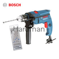 Bosch Promo Set ชุดสว่านกระแทก 13 มม. รุ่น GSB 550 + Bosch ชุดดอกเจาะปูน รุ่น CYL3