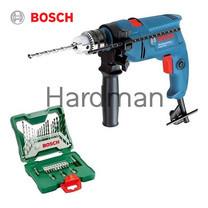 Bosch สว่านกระแทก 13 มม. รุ่น GSB 550 พร้อมชุดดอกเจาะ 33 ชิ้น รุ่น X-LINE 33