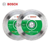 Bosch ชุดใบตัดเพชร 4 นิ้ว รุ่น Eco Ceramic 2 ชิ้น