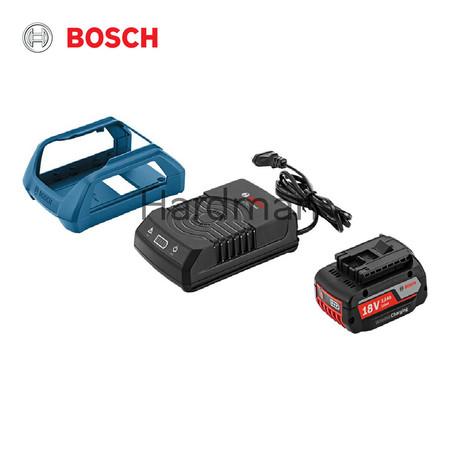 Bosch แบตเตอรี่ Starter Set รุ่น GBA 18V 2,0 Ah MW-B 2 ก้อน + แท่นชาร์จไร้สาย รุ่น GAL 1830W Wireless Charging Professional