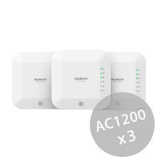 HUMAX E3 Home Wi-Fi System: Wide Package