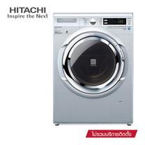 Hitachi เครื่องซักผ้าฝาหน้า ขนาด 8 kg. รุ่น BD-W90AV (Grey)