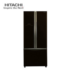 ตู้เย็น Hitachi 3 ประตู ระบบ inverter ขนาด 16 คิว (455 ลิตร) รุ่น R-WB460PY (GLASS BLACK)