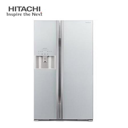 ตู้เย็น Hitachi Side By Side ระบบ inverter ขนาด 21.3 คิว (604 ลิตร) รุ่น R-S600GP2TH (GLASS SILVER)