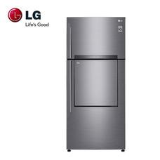 LG ตู้เย็น 2 ประตู ขนาด 18.1 คิว ระบบ Inverter Linear Compressor รุ่น GN-A702HLHU