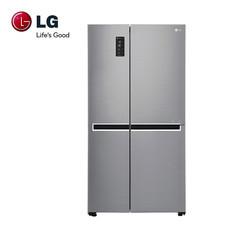 LG ตู้เย็น Side by Side ขนาด 22.1 คิว ระบบ Inverter Linear Compressor รุ่น GC-B247SLUV