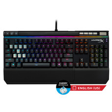 HyperX Alloy Elite RGB Mechanical Gaming Keyboard,MX Blue-NA Key (HX-KB2BL2-US/R1)